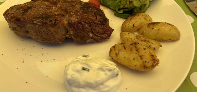 Rezept: Steak vom Grill